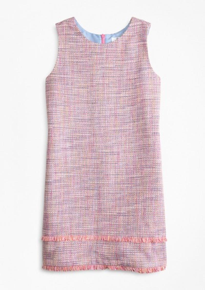 Brooks Brothers Girls Boucle Dress