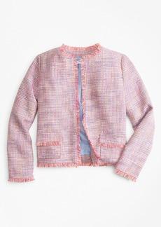 Brooks Brothers Girls Boucle Jacket