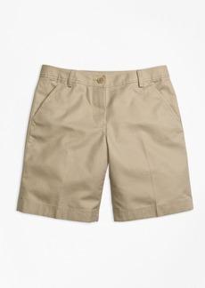 Brooks Brothers Girls Chino Bermuda Shorts