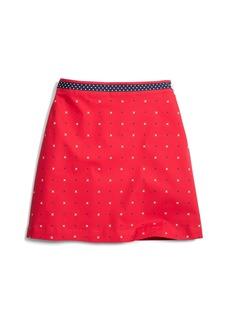 Brooks Brothers Girls Cotton A-Line XO Skirt