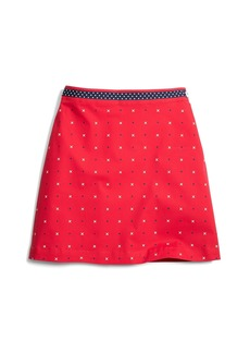 Brooks Brothers Girls Cotton A-Line XO Skirt