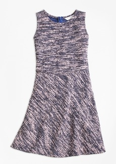 Brooks Brothers Girls Cotton Stretch Boucle Dress