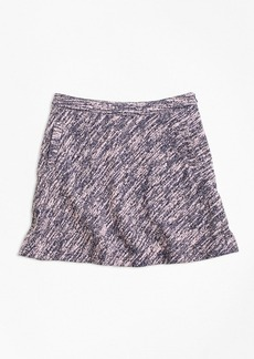 Brooks Brothers Girls Cotton Stretch Boucle Skirt