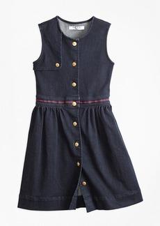 Brooks Brothers Girls Denim Dress