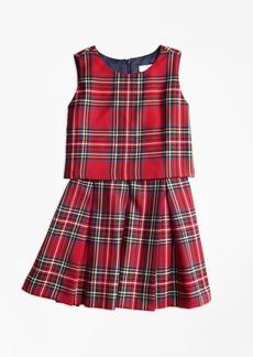 Brooks Brothers Girls Holiday Tartan Dress