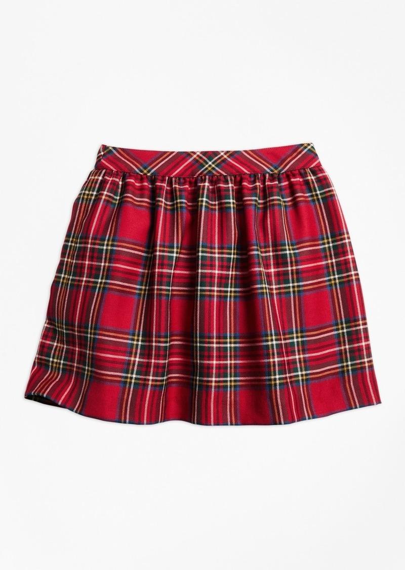 932b222800da1 Brooks Brothers Girls Holiday Tartan Skirt   Skirts