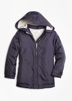 Brooks Brothers Girls Hooded Coat