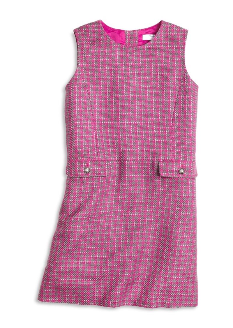 Brooks Brothers Girls Houndstooth Dress