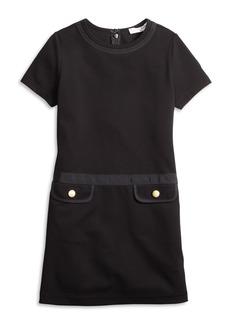 Brooks Brothers Girls Knit Ponte Dress