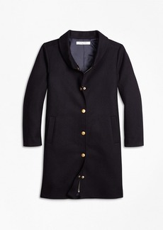 Brooks Brothers Girls Melton Long Coat