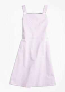 Brooks Brothers Girls Seersucker A-Line Dress