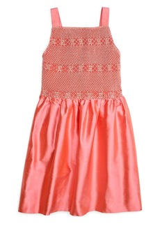 Brooks Brothers Girls Smocked Tank Dress