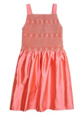 Brooks Brothers Girls Smocked Tank Dress