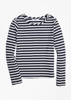 Brooks Brothers Girls Stripe T-Shirt