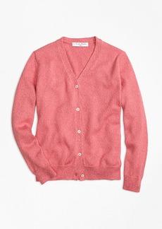 Brooks Brothers Girls Supima® Cotton V-Neck Cardigan