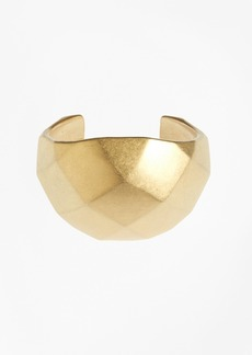 Brooks Brothers Gold Faceted Cuff