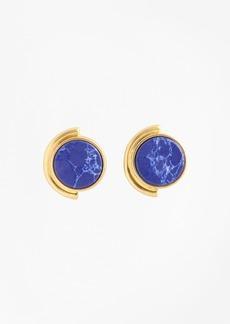 Brooks Brothers Gold-Plated Geometric Stud Earrings