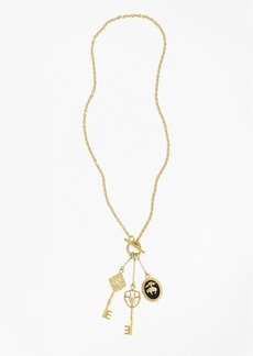 Brooks Brothers Gold-Plated Key Necklace