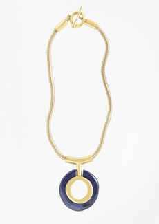 Brooks Brothers Gold-Plated Pendant Necklace