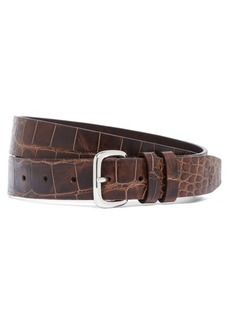 Brooks Brothers Harrys Of London® Alligator Basel Belt