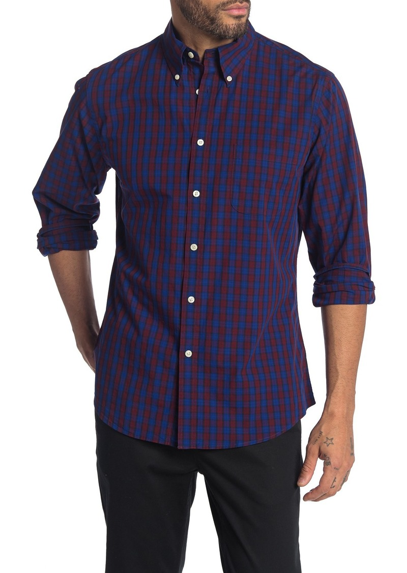 Brooks Brothers Holiday Checks Regent Fit Shirt