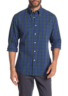 Brooks Brothers Holiday Checks Long Sleeve Regent Fit Shirt