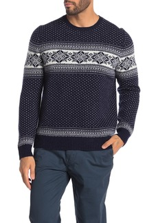 Brooks Brothers Holiday Fairisle Wool Blend Sweater