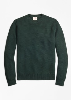 Brooks Brothers Honeycomb-Knit Cotton Sweater