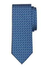 Brooks Brothers Horsebit Link Print Tie