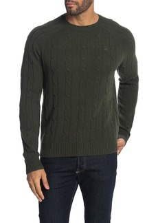 Brooks Brothers Lambswool Cable Knit Sweater
