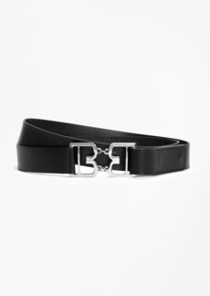 Brooks Brothers Leather Double-Wrap Belt