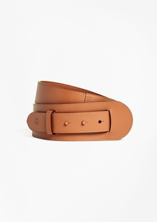 Brooks Brothers Leather Pin-Closure Belt