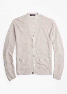 Brooks Brothers Linen Cardigan