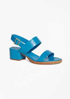 Low Ankle-Strap Sandals