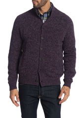 Brooks Brothers Marble Button Front Cardigan