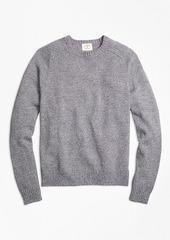 Brooks Brothers Marled Cotton Crewneck Sweater