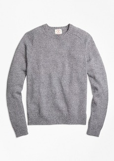 Brooks Brothers Marled Cotton Crewneck Sweater