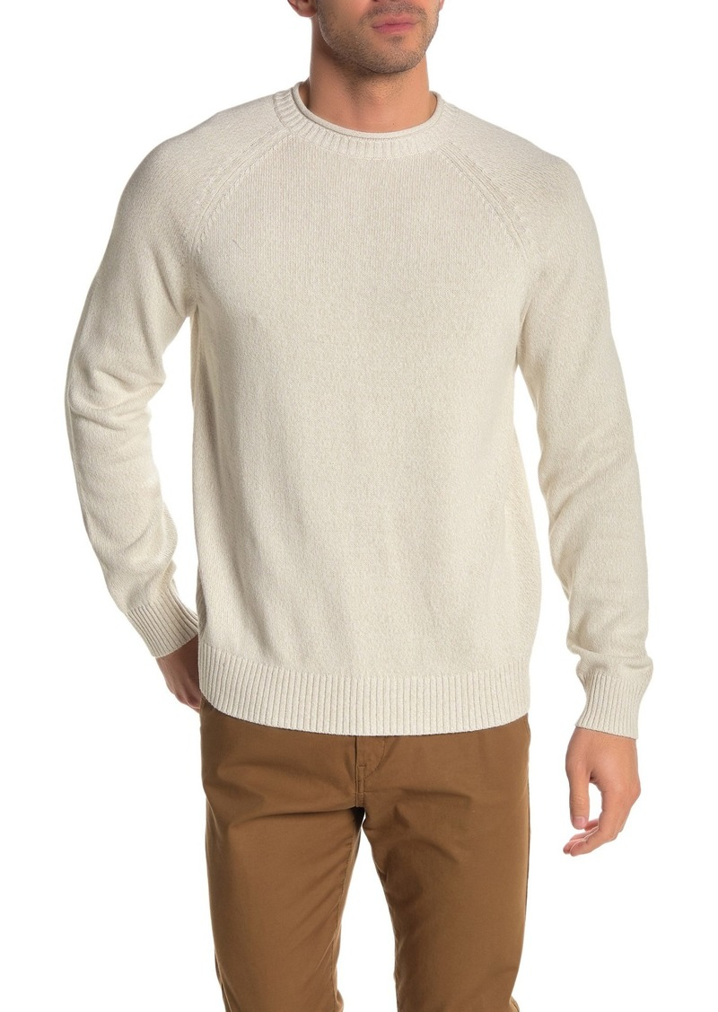 Brooks Brothers Marled Rolled Crew Neck Sweater