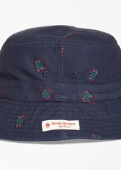 e93d74efce7 Brooks Brothers Medallion-Embroidered Bucket Hat Brooks Brothers Medallion-Embroidered  Bucket Hat