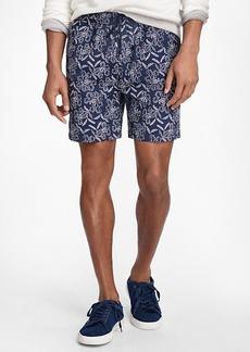 "Brooks Brothers Montauk 6"" Floral Swim Trunks"