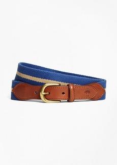 Brooks Brothers Naval Stripe Belt