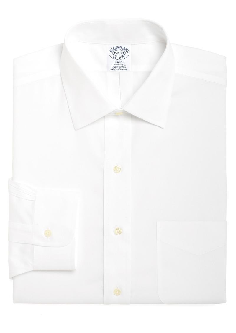 Men's Big & Tall Brooks Brothers Regular Fit Solid Dress Shirt