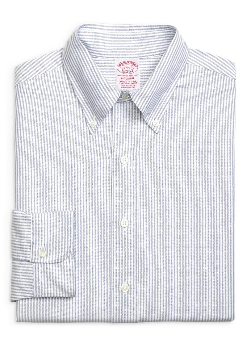 Men's Big & Tall Brooks Brothers Madison Classic Fit Stripe Dress Shirt