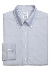 Men's Big & Tall Brooks Brothers Regent Regular Fit Solid Dress Shirt
