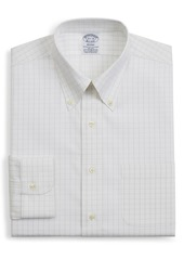 Men's Big & Tall Brooks Brothers Regent Regular Fit Windowpane Dress Shirt