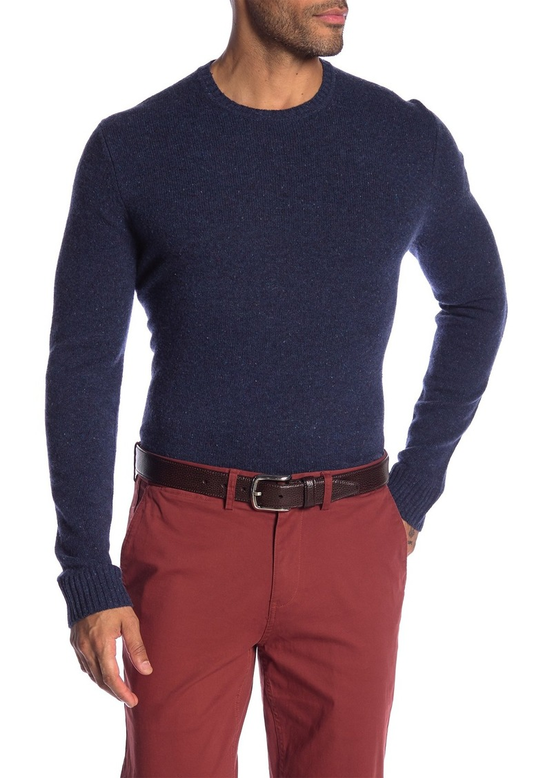 Brooks Brothers Merino Wool Crew Neck Sweater