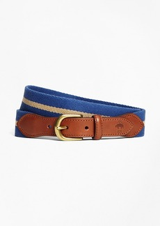 Brooks Brothers Naval Stripe Belt