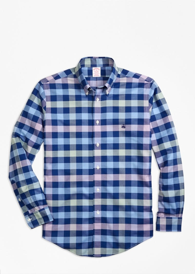 Brooks Brothers Non-Iron BrooksCool® Madison Fit Gingham Sport Shirt