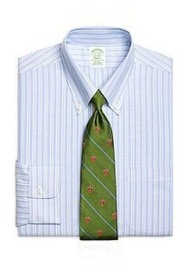 Sale brooks brothers non iron extra slim fit brookscool for Brooks brothers dress shirt fit