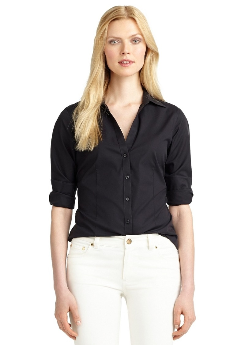 Shop the Brooks Brothers collection of women's blouses, tunics, shirts, tops, and dress shirts. Legendary quality and customer service are a click away. More colors available for Non-Iron Fitted Dress Shirt More colors available +.